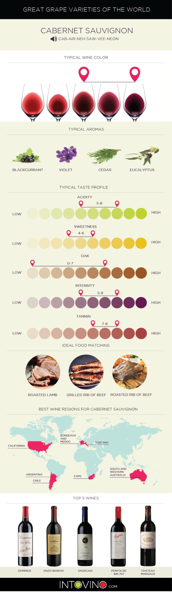 Guide to Cabernet Sauvignon