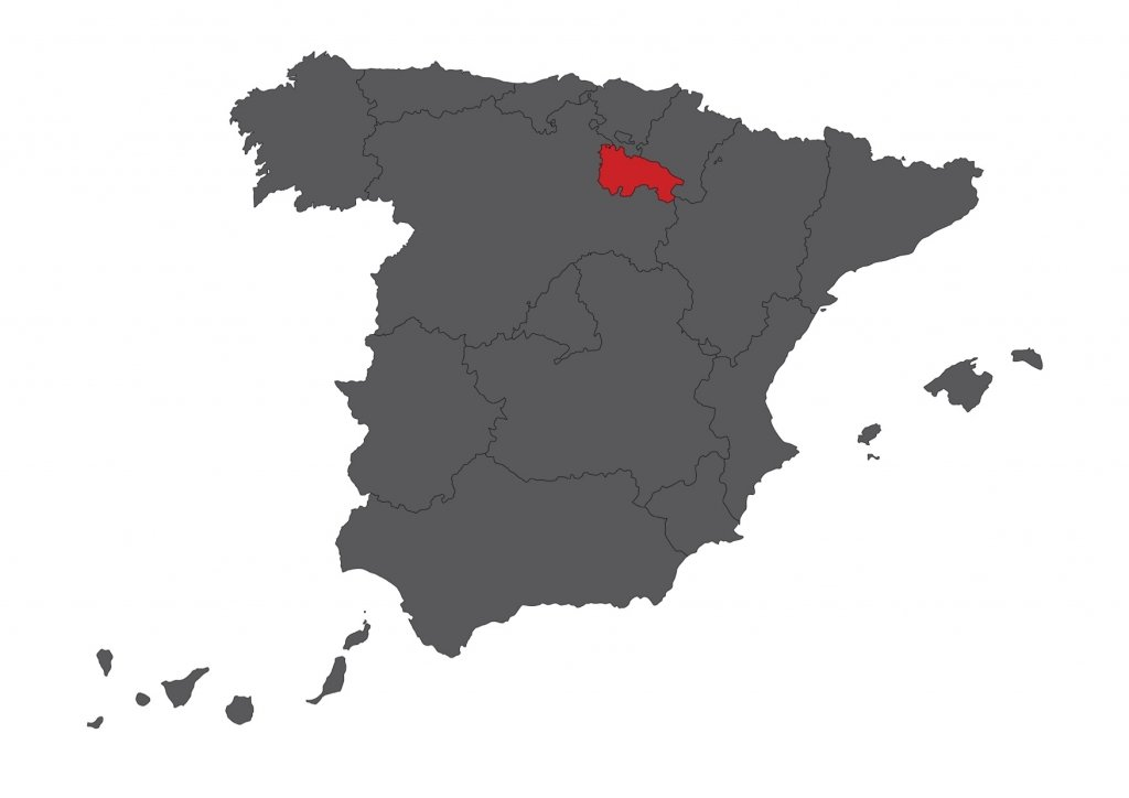 Red Rioja Map