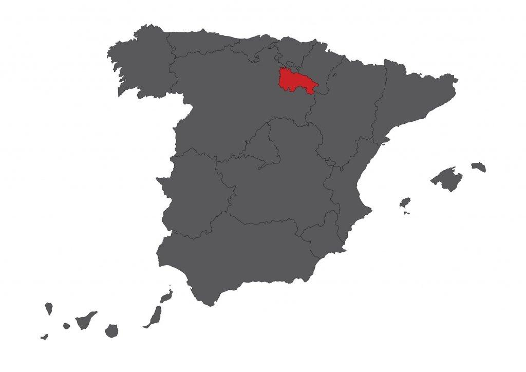 Red Rioja Map