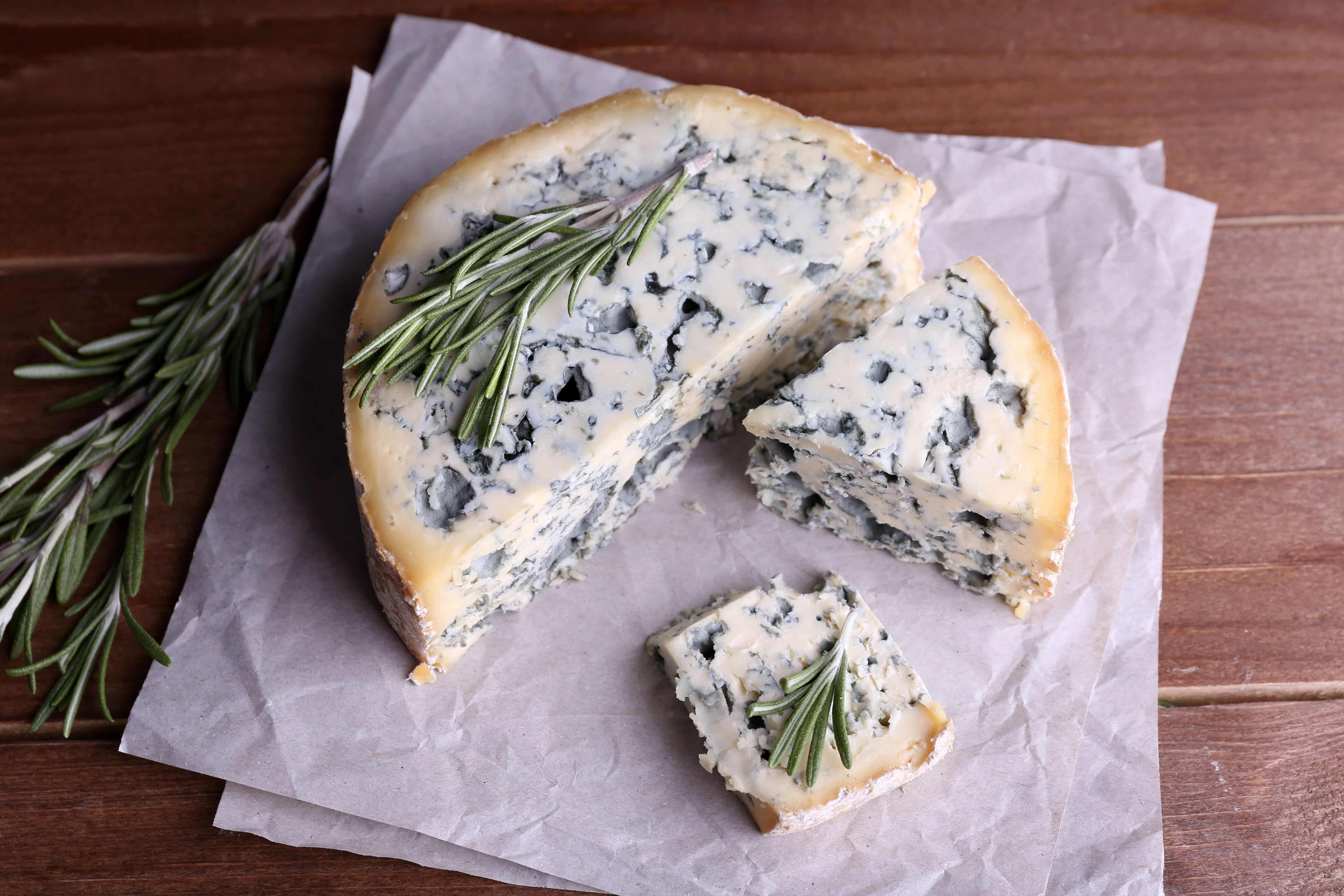 blue cheese-wine