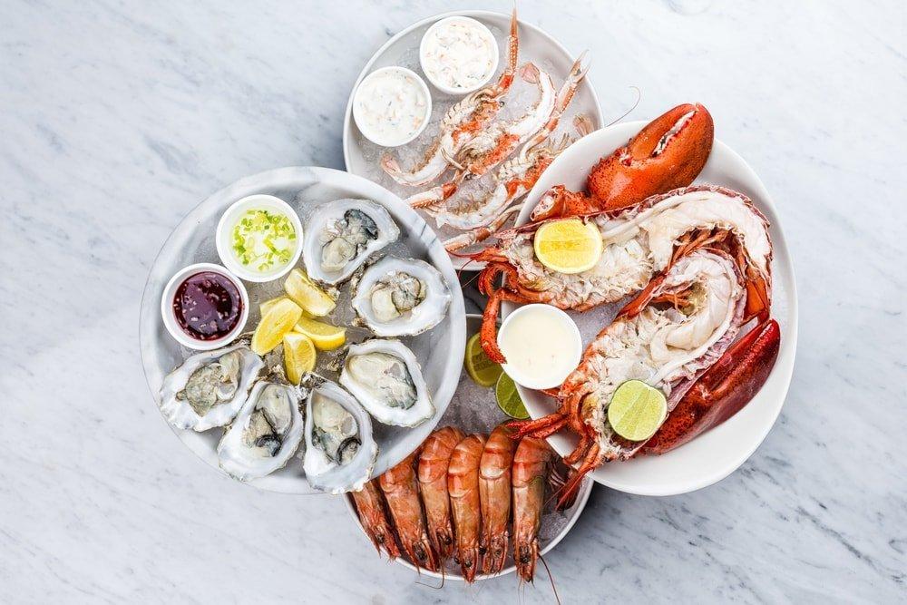 seafood blanc de blanc
