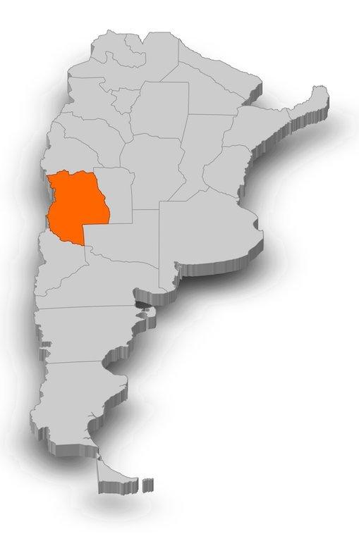 Mendoza Wine Region Map