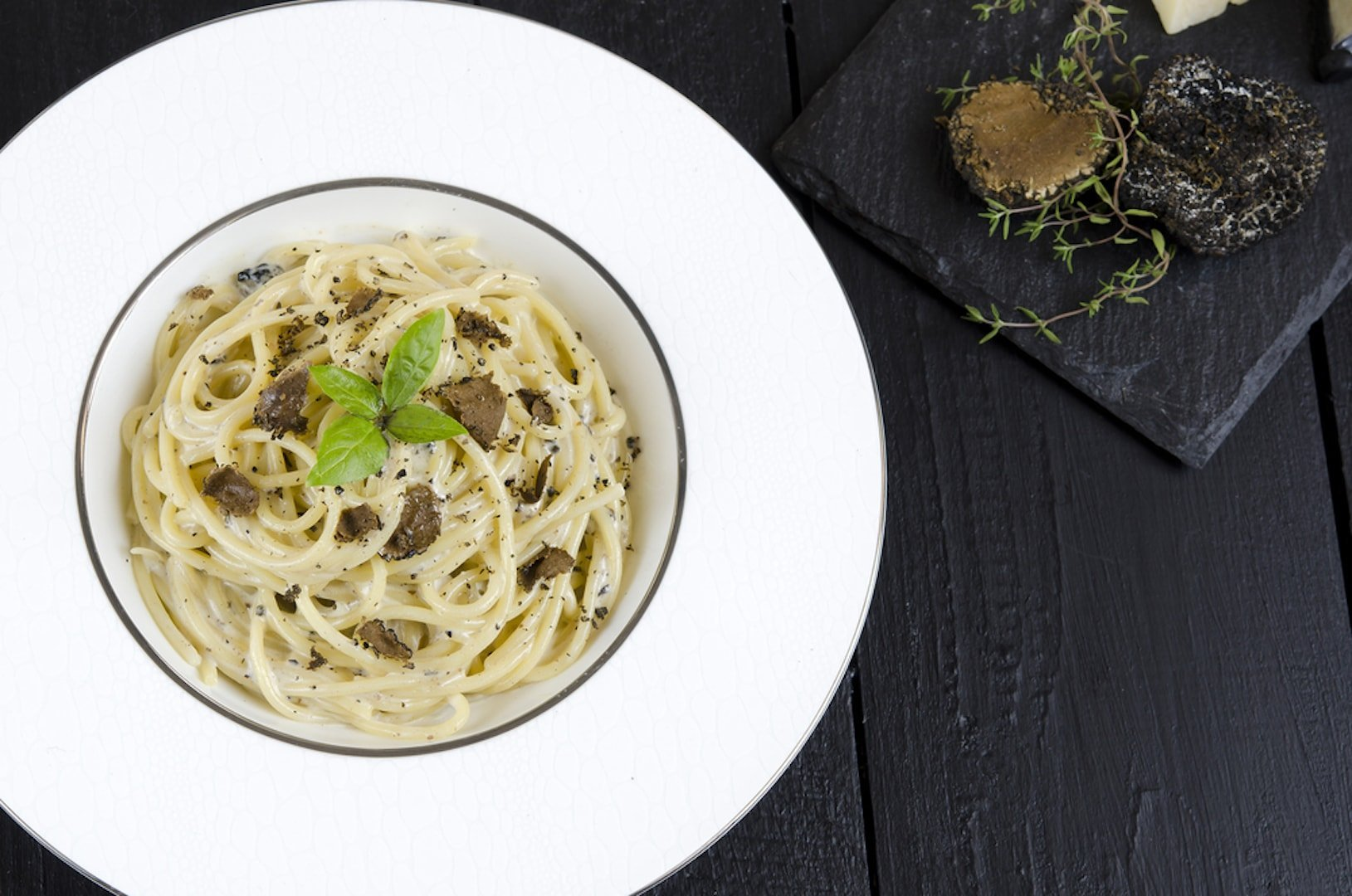 truffle pasta to pair with barolo wine