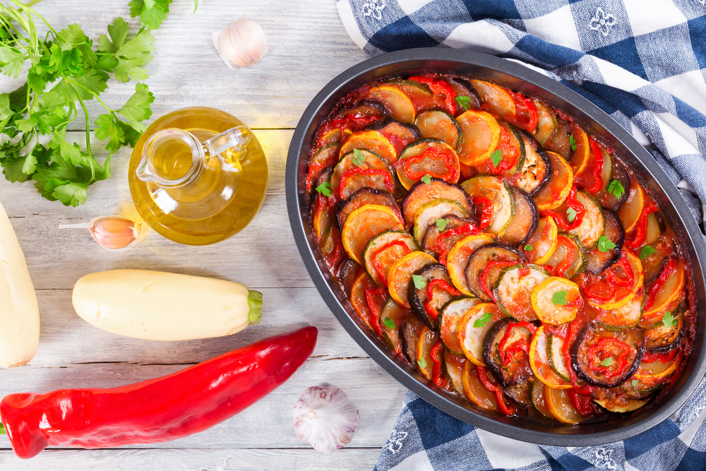 Ratatouille pair with cotes de provence wine
