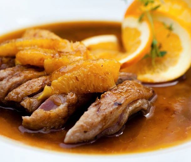 duck in orange sauce - best wine with duck