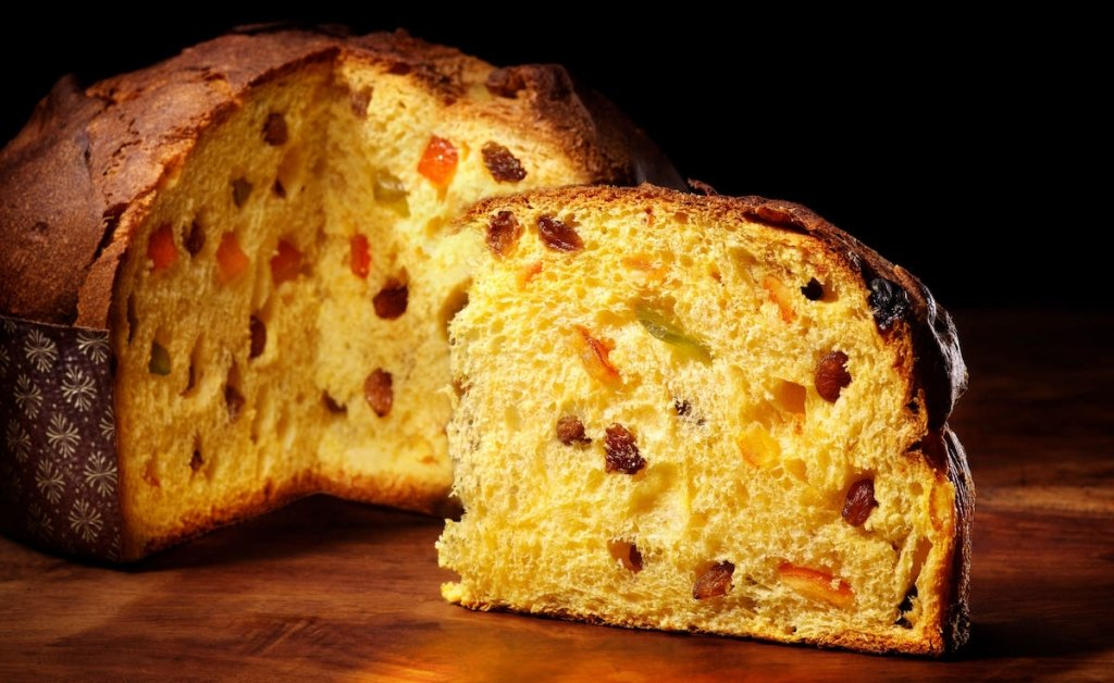 Panettone-prosecco food and wine matching